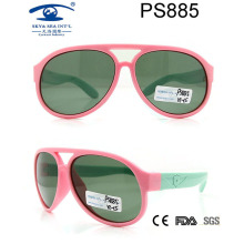 Latest Promotional Stock Colourful Fashion Cute Children Sunglass (PS885)