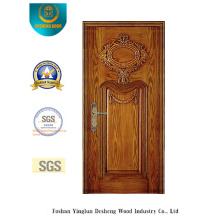 Puerta de acero de seguridad con talla especial (b-6017)