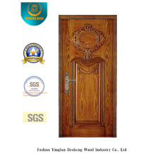 Security Steel Door with Special Carving (b-6017)