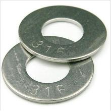 Acero inoxidable de las arandelas planas del acero inoxidable M1-M24 316 Factories
