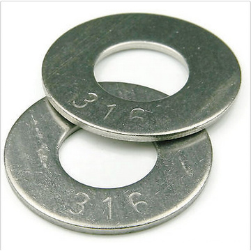 M1-M24 316 Stainless Steel Flat Washers Professional Factories