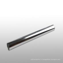 Tube de corps de choc en aluminium anodisé pour pièces de moto