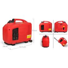 Uso doméstico 2.6kw 2600W Pequeños generadores portátiles del inversor de Digitaces del poder de la gasolina