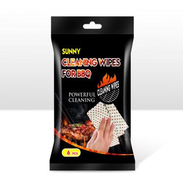 Toallitas de limpieza para barbacoa Quitan la grasa
