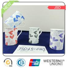 Nueva taza de porcelana de promoción de diseño con alta calidad