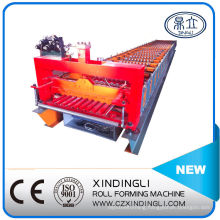 Color Steel Shutter Door Frame Roll Forming Machinery