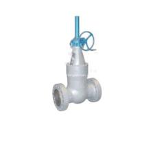 Válvula de porta de selo de pressão flangeado