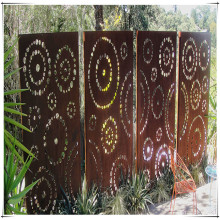 Corten Steel Garden Screen