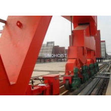 Heavy Duty Shipyard / Shipbuilding Gantry Crane With Hoisti