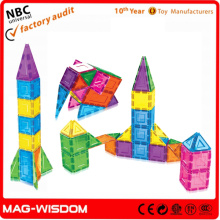 PlaymagsToy Magformers DIY Toys Plastic Magnetic Building Blocks Toy 100pcs