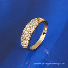 2016 Ano Novo Presente Xuping Moda Branco Diamante Anel Jóias