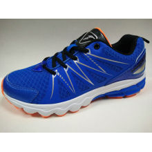 3 Color Men′s Fashion Mesh Breathable Running Shoes