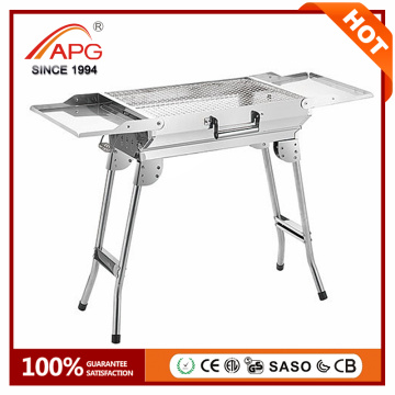APG New Smokeless Portable Charcoal BBQ Grill