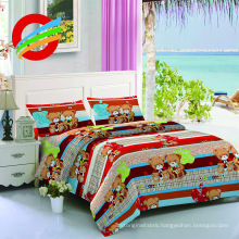 bed runners printing microfiber fabric