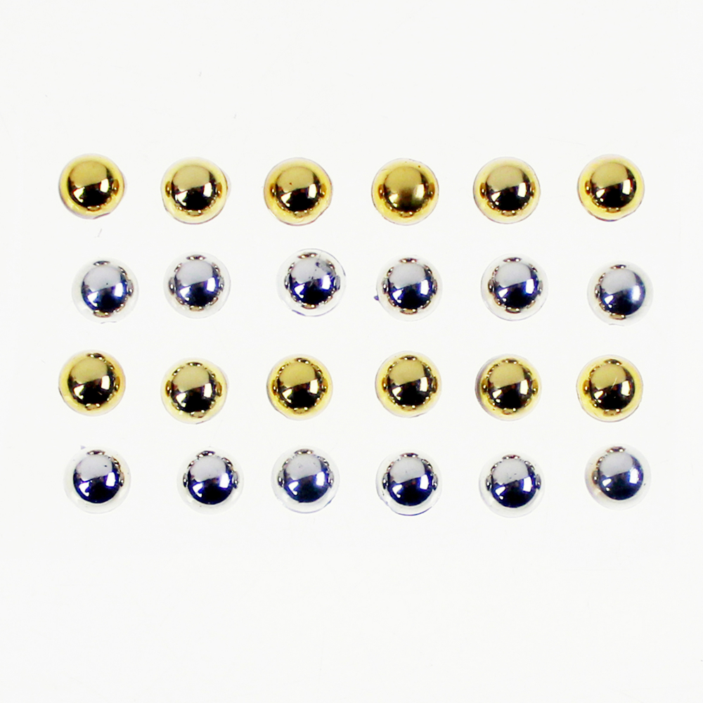Self Adhesive Dimensional Gemstones 24pcs