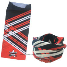 Custom Made Design Printed Elastic Microfiber Promotional Sports Tubular Buff Headband