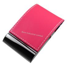 Porte-cartes de visite en PU pour cadeaux (BS-L-063)