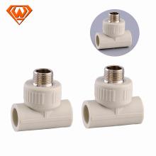 Venta caliente de plástico ppr accesorios de tubería de plomería para el fabricante de china de agua