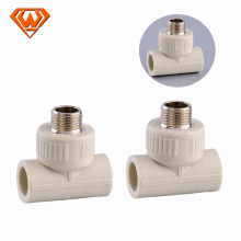 Plastic hot sell ppr plumbing pipe fittings for water china manufacturer