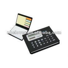 calculator function memo pad for promotion