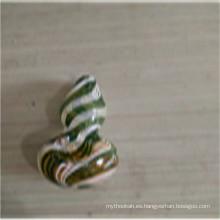 Vidrio de la pipa de la cuchara del color de la vitalidad del enchufe de fábrica para fumar (ES-HP-155)