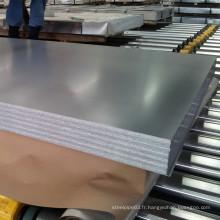 Plaque et plaque en acier inoxydable pour la construction et le mobilier Steet