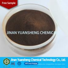 Agente químico auxiliar Sulfonato de sodio Lignina MSDS para textiles