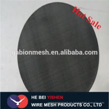 Filtro de aplicación de tela de alambre negro