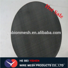 Filter application black wire cloth