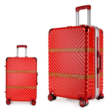 Smart luggage trolley for hotel aluminum frame