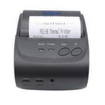 Handeld Thermal Printer Label Sticks Print Use Label Barcode Printer
