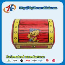 Brinquedo de caixa de dinheiro de tesouro promocional de plástico para crianças