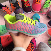 Mesh Student Woven Sports Sneaker Footwear Colorful Shoe