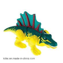 Figura do plástico do dinossauro do PVC de Hotsale para o Dia das Bruxas