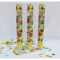 Popper de feuille d'or Confetti Fan Party