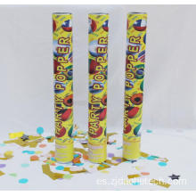Golden Foil Confetti Fan Party Popper