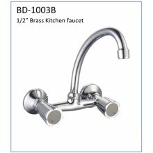 Bd1003b - Grifo de cocina de latón con doble asa
