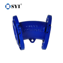 Pn10 Pn16 Ductile Iron Epoxy Coating Loosing Flanged Fittings for Pipe Installation