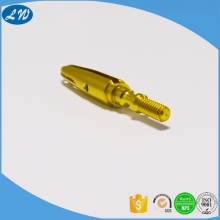 CNC lathe machining customized brass components