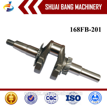 Heißer Verkauf 168FB Stahl geschmiedete Kurbelwelle Top Qualität