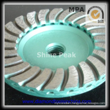 Turbo Cup Grinding Wheel for Polishing Concrete and Floor