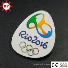 Новый 2016 Бразилия Рио-олимпийский синтетический эмалевый значок