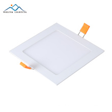 Wolink Free sample square 6 inch slim recessed led panel light 6w 12w 18w