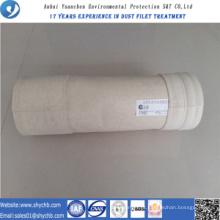 Saco de filtro não tecido de Aramid do coletor de poeira para a planta do asfalto