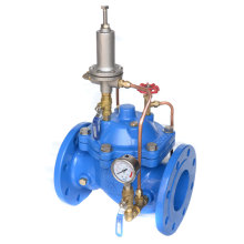Double Flange Pressure Sustaining and Relief Valve