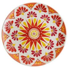 Placa de cena de la melamina 10inch con el nuevo diseño (PT196)