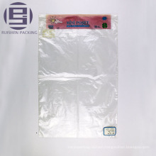 Anti static resealable pe flat packaging bags