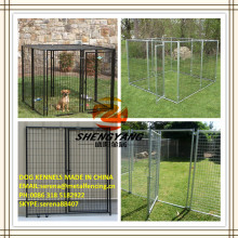 hot galvanized welded wire mesh dog kennel cages