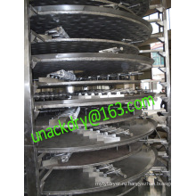 Непрерывный роторный пластины сушилка для лития карбонат
