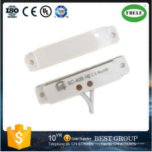 Sensor de puerta y ventana Interruptor de contacto magnético de la puerta 12V Interruptor de contacto magnético inalámbrico (FBELE)